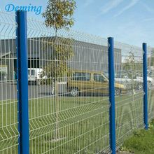 1.83m Wholesale Welded Wire Mesh Galvanized PVC Fence