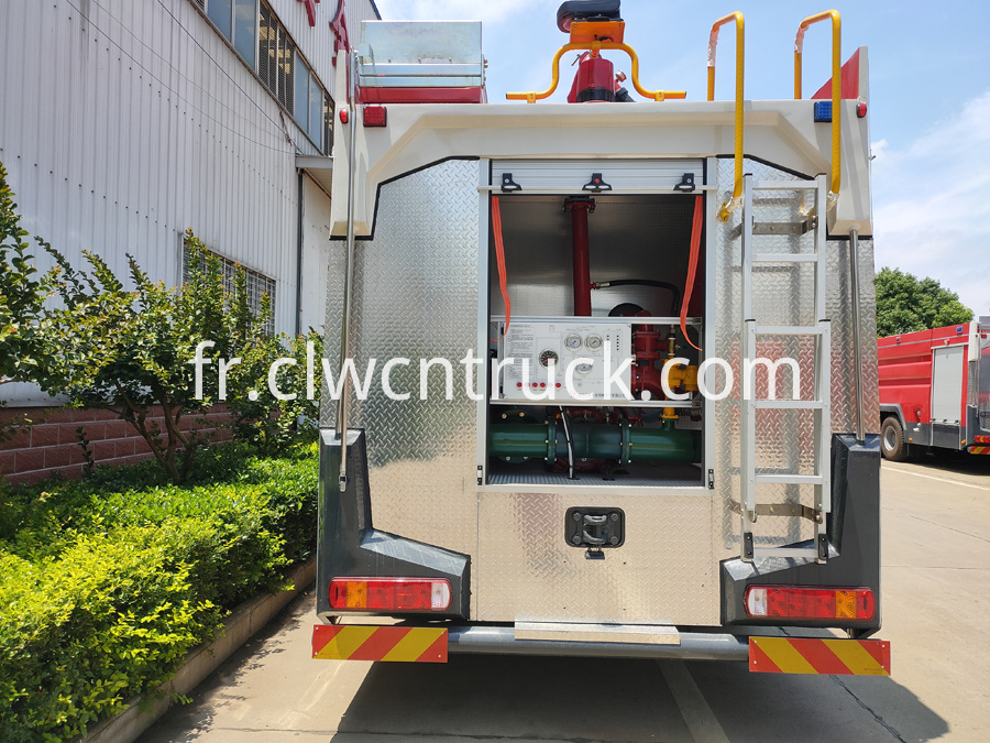 howo sinotruck fire truck for sale