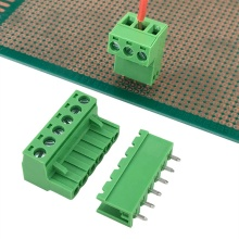 5.08mm pitch PCB plug-in terminal block