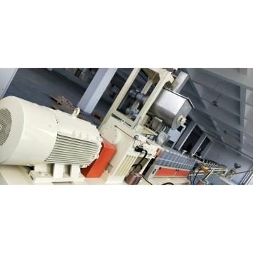 Biodegradable plastic granules making machine