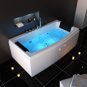 Modern Style Acrylic Massage Bathtub