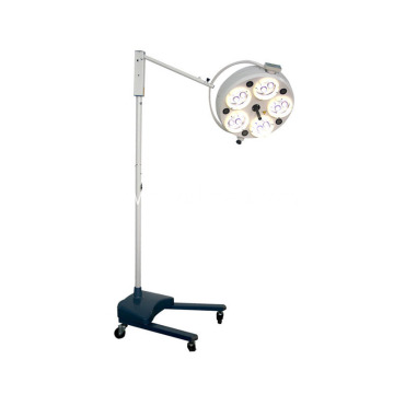 Good Price High Quality Medical Hospital Portable Flooring Standing LED Operation Lamp with 5 REFLECTORS