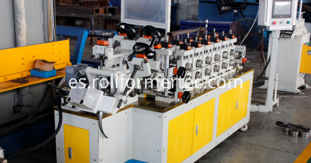 band clamps roll forming machine