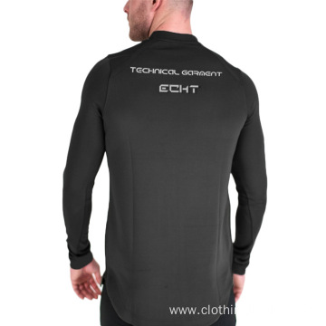Tops leisure bodybuilding long sleeve tees