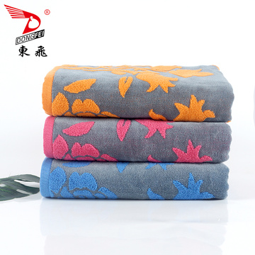 100% cotton softer yarn dyed  bath towel