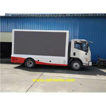 P8 Mobile LED Screen Trucks