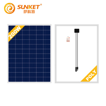 200W Poly Solar Panel polycrystalline silicon for sale