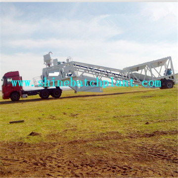 Truck Mobile Concrete Mixing Plant For Sale