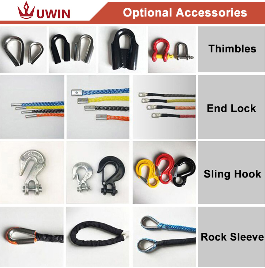 winch rope accessories
