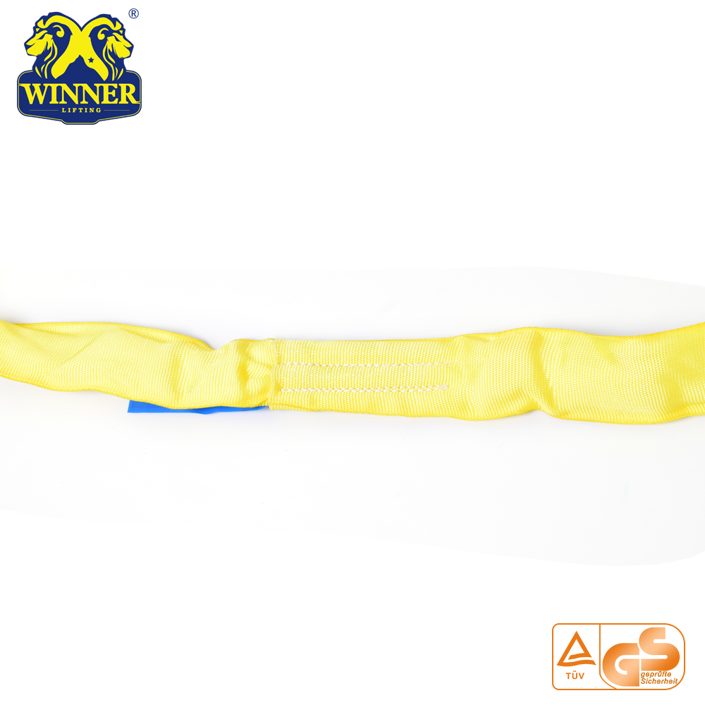 100% Polyester Lifting Belt Round Sling