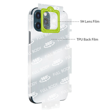 Camera lens protector and rear screen protector