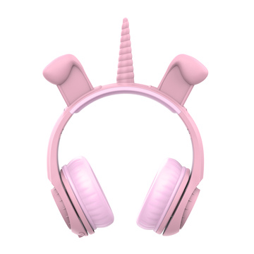 Factory OEM Wired Led Cat Ear Headphone