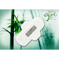 Latest bamboo charcoal ladies sanitary pad