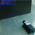 Blue Line Laser for High-speed Rail Detection