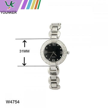 Beautiful Women Ladies Bracelet Watch with Alloy Strap