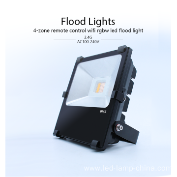 AC100-240V LED flood light 20w RGBW led flood light