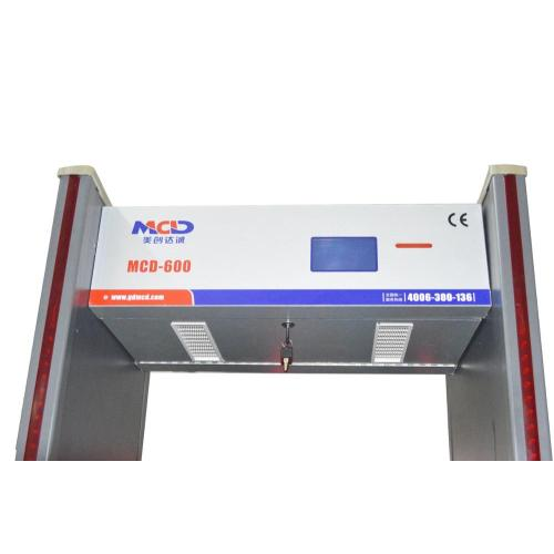 Walkthrough Metal Detector Gate for Airports MCD-600