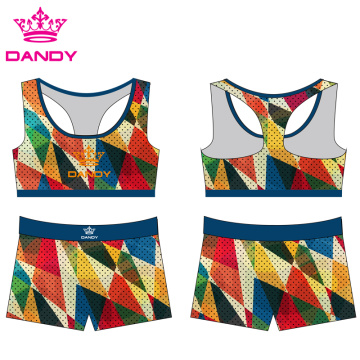 Wholesale Sublimated Adult Cheerleader Outfit