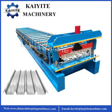 Galvanized Aluminium IBR Roof Sheet Roll Forming Machine