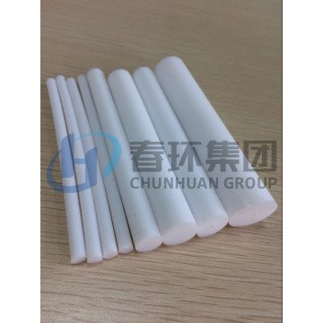 4mm Virgin white Teflon extruded Rod