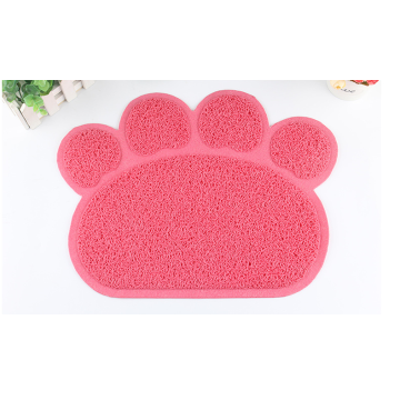 Mat for dog bowl mats cute pet disposable