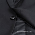 regular fit formal office men black business suit