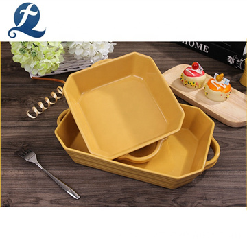 High quality household tableware custom stoneware dinner set