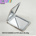 Beauty care square folding pocket mirror