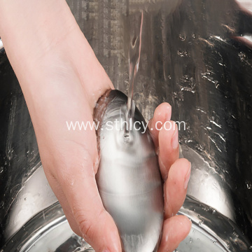 304 Kitchen Gadget Oval Stainless Steel Creative Soap