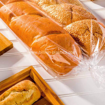 Large Clear Gusseted Bags Bread Bag