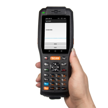 3.5inch handheld rugged pda with mobile printer