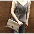 Fashion Women Purse Gold Clutch Evening Bag