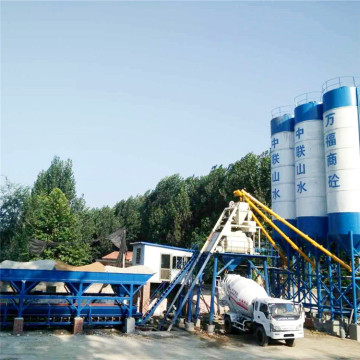 Concrete batching plant specifications capacity machine