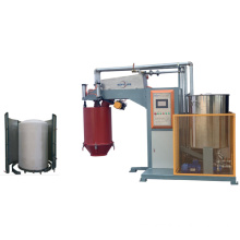 Automatic batching foam machine round and square mould