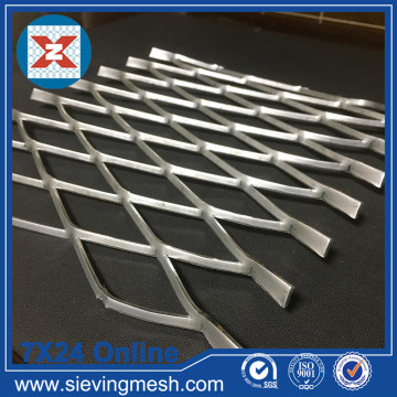 Expanded Steel Diamond Mesh
