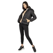 Winter Warm Black Women Padded Jackets