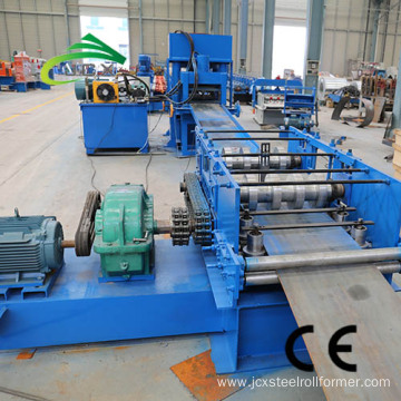 W beam barrier roll forming machine