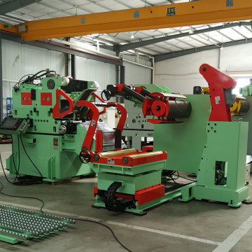 Compact Coil Line Servo straightener feeder machine