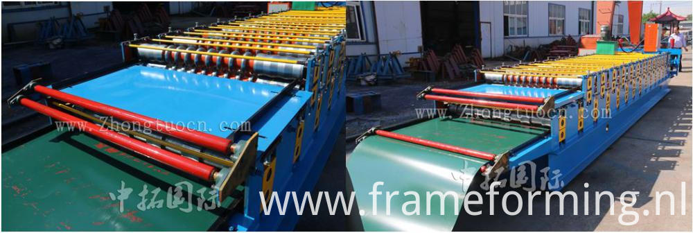 Galvanized Metal Double Layer Machine