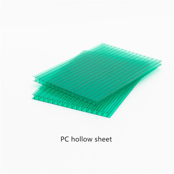 Polycarboante Hollow Sheet with Two Layers