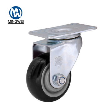 Medium Duty 3 Inch Swivel PVC Caster Wheel