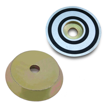 D70 Strong Bushing Magnet Zinc Coated