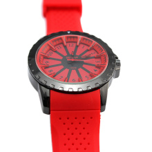 Fashion Ladies Silicone Wristwatch