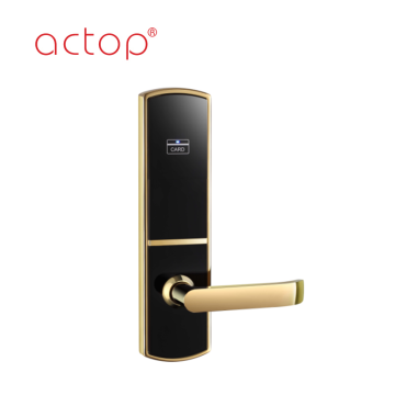 304 stainless steel high-security digital hotel door lock