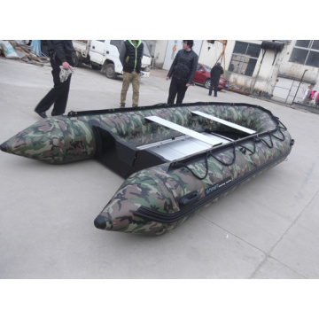 hand made inflatable fishing boats