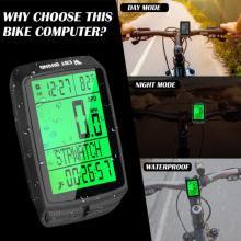 Waterproof Bicycle Computer MTB Bike Stopwatch Wireless Multi-function Interface Tachometer Speedometer Bicycle Accessories