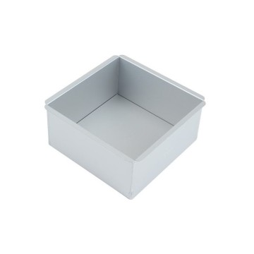 Aluminium Alloy 6 Inch Square Baking Mold