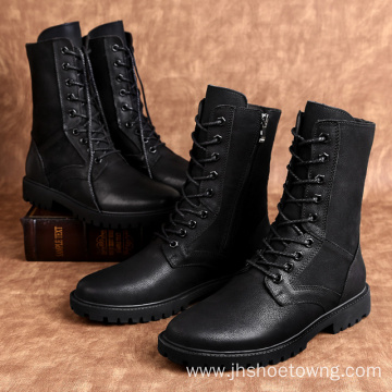 Combat Boots for Men Winter warm