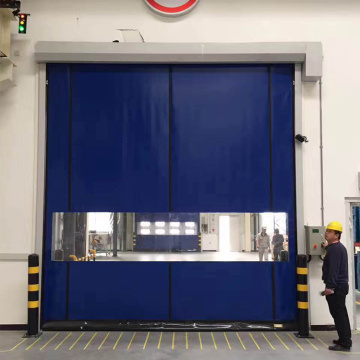 Industrial Automatic Roll Up High Speed Door