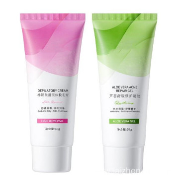 High quality aloe gel body hair removal cream